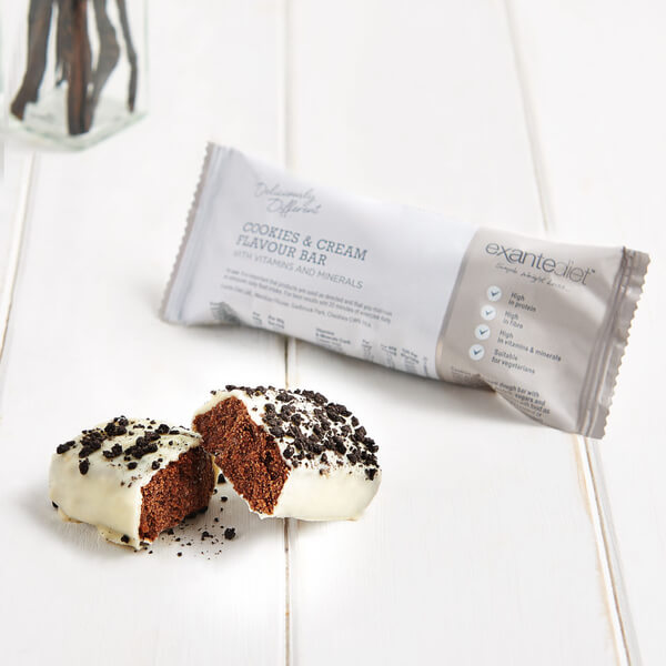 Meal Replacement Cookies and Cream Diet Bar