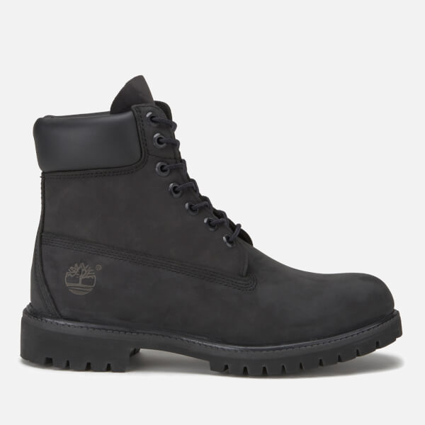 official photos d06d9 6eb46 Timberland Men s 6 Inch Nubuck Premium Boots - Black  Image 1