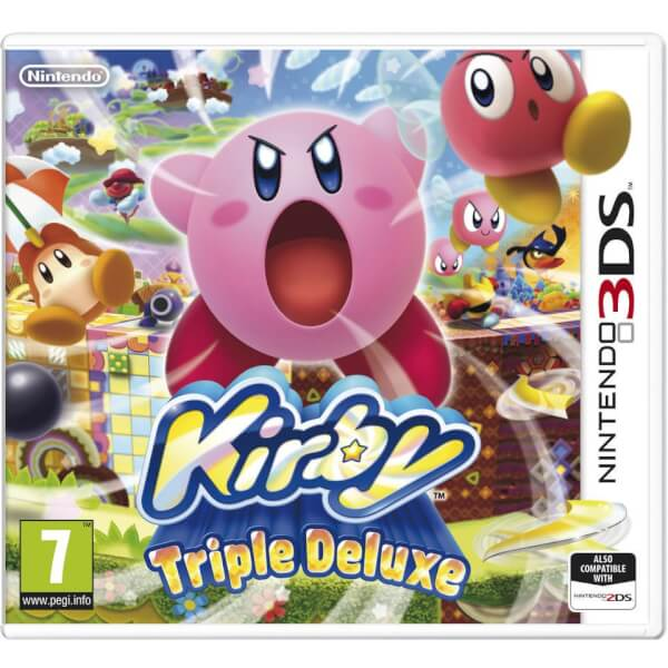 Kirby Triple Deluxe - Digital Download