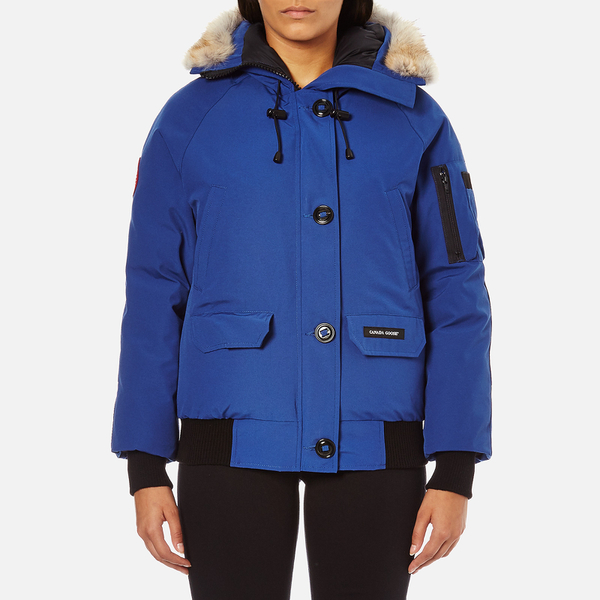 Canada Goose Women's Chilliwack Bomber Jacket - Pacific Blue