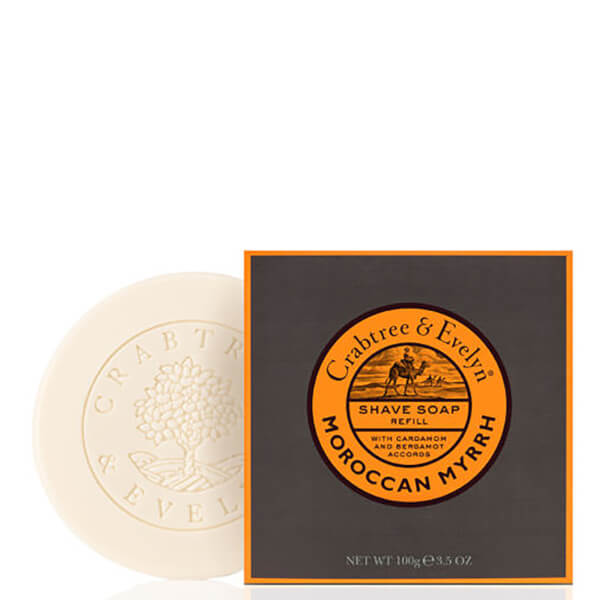 Crabtree & Evelyn Moroccan Myrrh Shave Soap Refill (3.5oz)