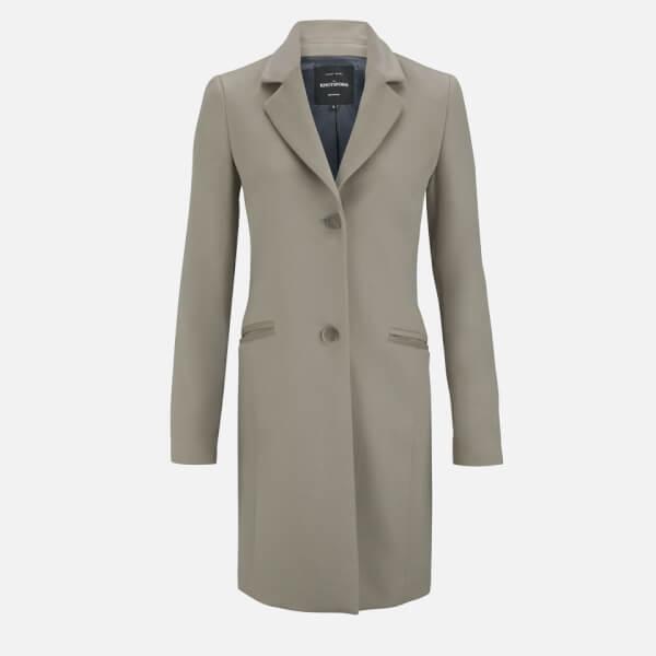 Knutsford Women's Cashmere Blend Riding Coat - Mink