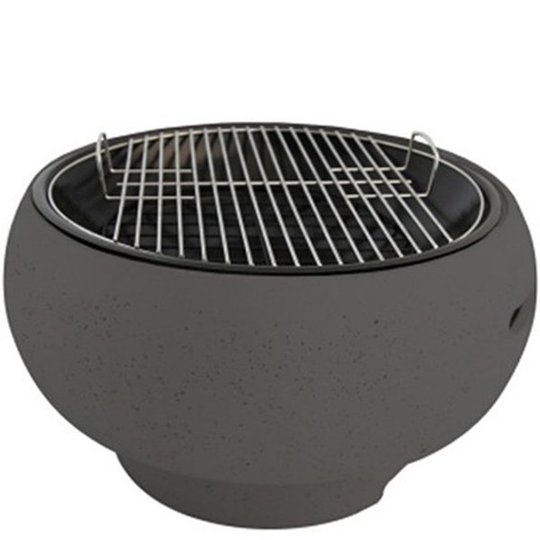 Supagrill pod table top bbq grey iwoot - Table top barbecue grill ...