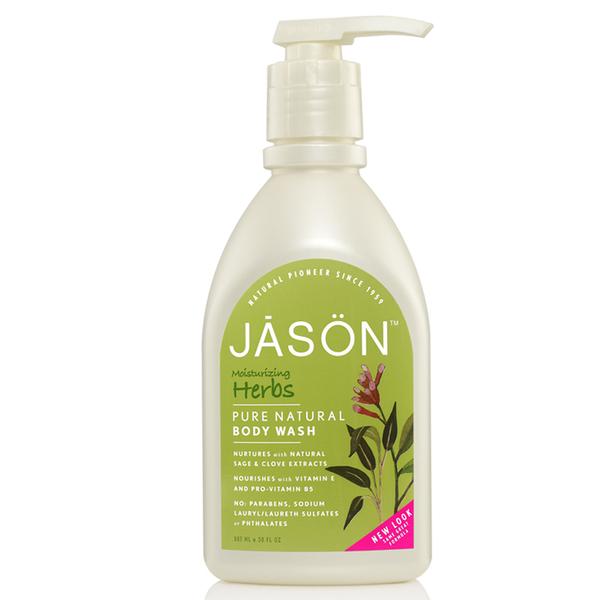 Moisturizing Herbs Body Washde JASON 887ml