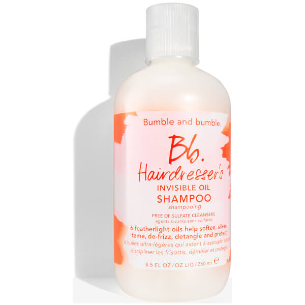 Shampoing sans sulfate Hairdressers Invisible Oil de Bumble and bumble 250ml