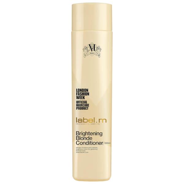 Acondicionador iluminador cabello rubio label.m Brightening Blonde (300ml)
