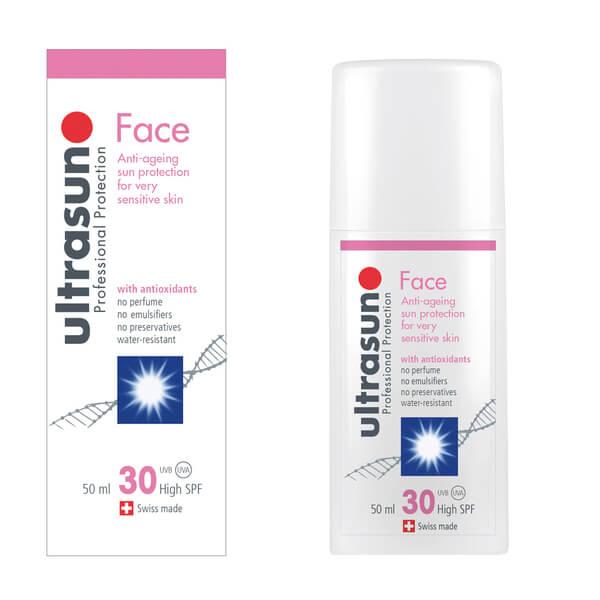 Ultrasun SPF 30 Face Sun Lotion (2oz)