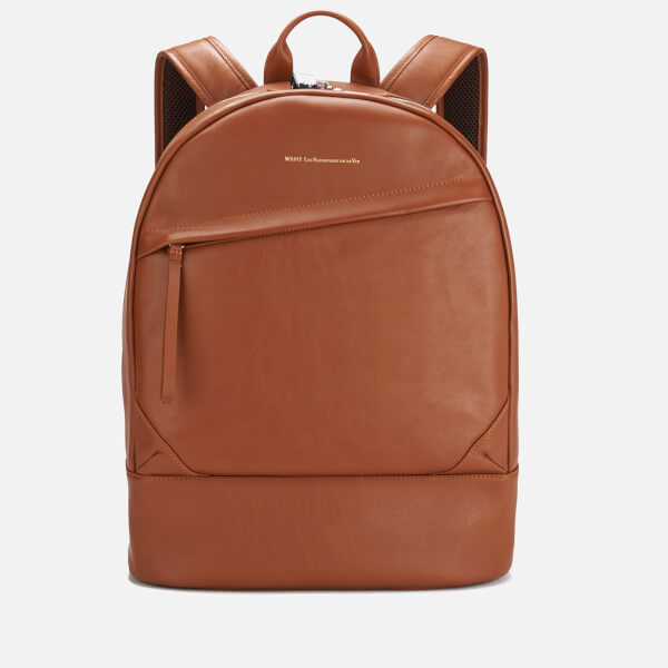 WANT LES ESSENTIELS Men's Kastrup Backpack - Cognac