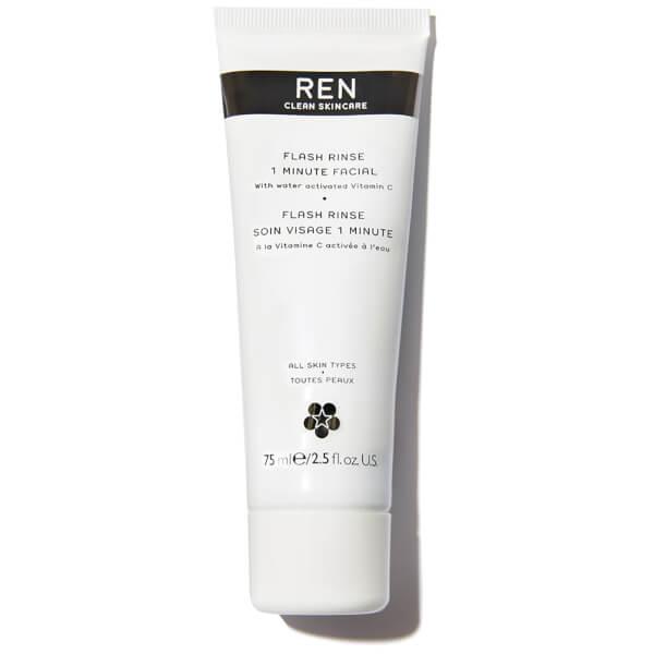 REN Flash Rinse 1 Minute Facial