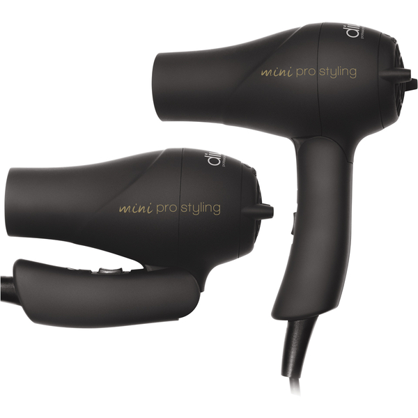 Travel Dryer de Diva Professional Styling - Rubberised Black