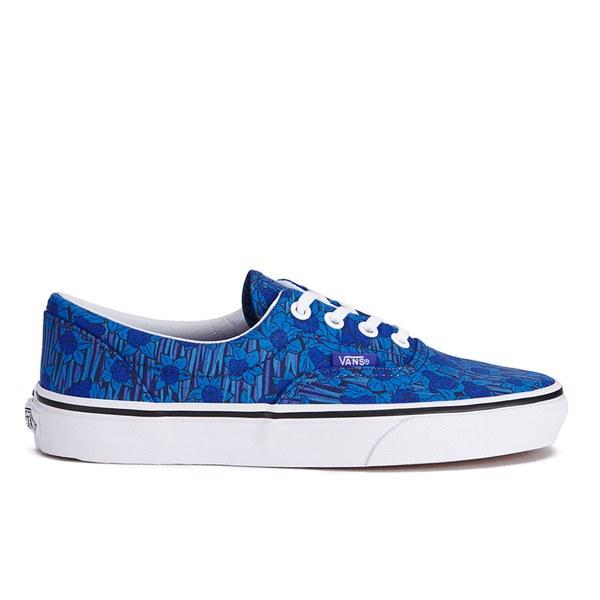Vans Unisex Era Liberty Trainers - Blue/Floral Stripe