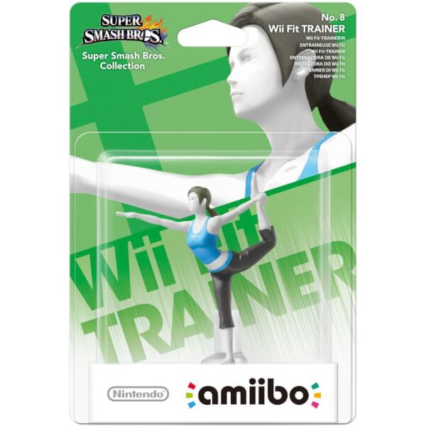 Wii Fit Trainer No.8 amiibo