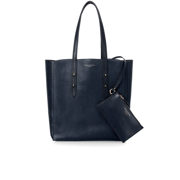 Aspinal of London Women's Essential Tote Bag - Navy