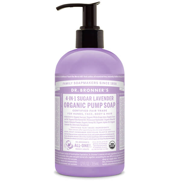 Dr. Bronner Organic Shikakai Lavender Hand Soap (355ml)