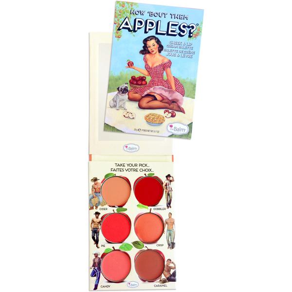 Palette pour les lèvres et les joues theBalm How Bout Them Apples Lip and Cheek Palette
