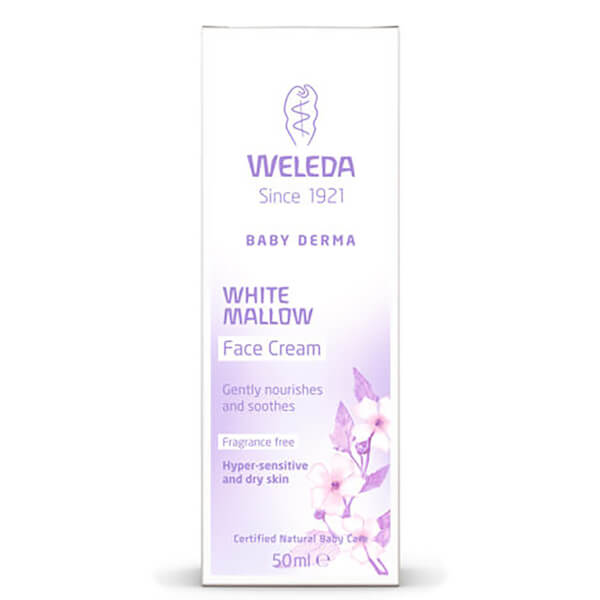 Weleda Baby Derma White Mallow Face Cream (50ml)