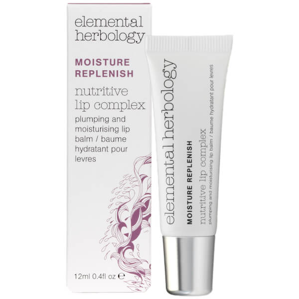 Elemental Herbology Nutritive Lip Complex Plumping and Moisturizing Lip Balm (.4 oz.)