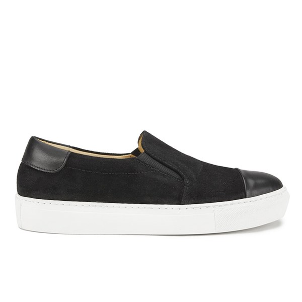By Malene Birger Women's Cinca Leather Slip On Trainers - Black