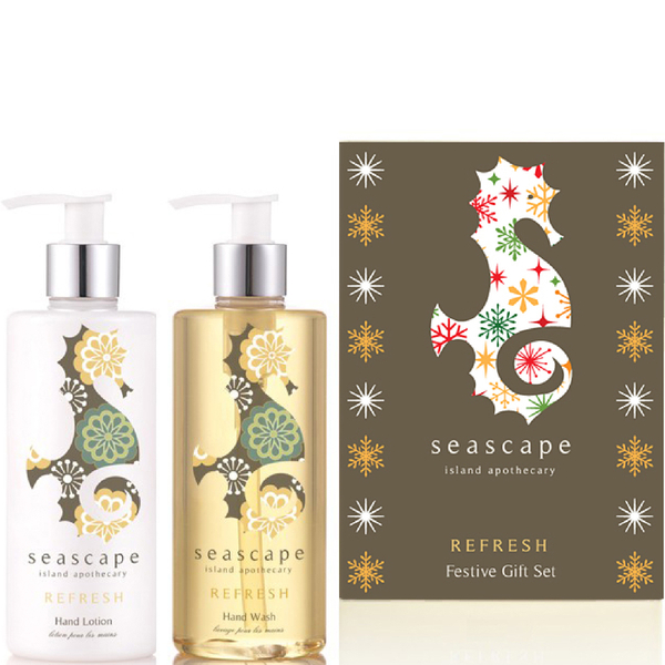 Seascape Island Apothecary Refresh Festive Gift Set
