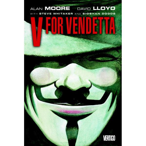 V for Vendetta Paperback Graphic Novel (New Edition)