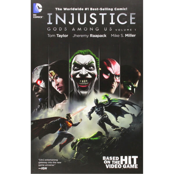 Injustice: Gods Among us - Volume 1 Paperback Graphic Novel