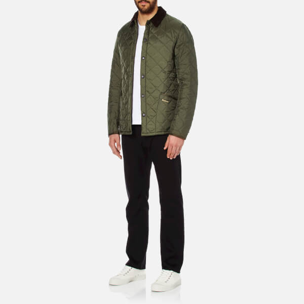 Barbour Heritage Men's Liddesdale Quilt Jacket - Olive Clothing ... : barbour heritage liddesdale quilted jacket - Adamdwight.com