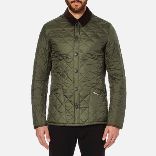 Barbour Men s Heritage Liddesdale Quilt Jacket - Olive Clothing ... fbf72876f94c