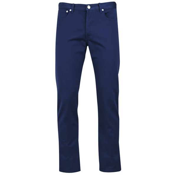 A.P.C. Men's Petit New Standard Trousers - Dark Blue Selvedge Gabardine