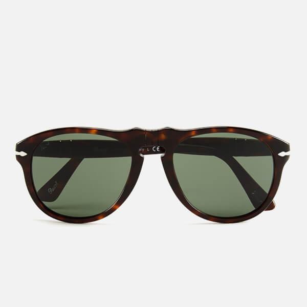 Persol D-Frame Men's Sunglasses - Havana