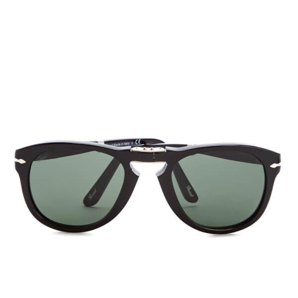 Persol Foldable Men's Sunglasses - Black