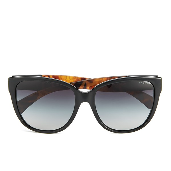 e96f6676104 Polo Ralph Lauren D-Shape Women s Sunglasses - Black  Image 1