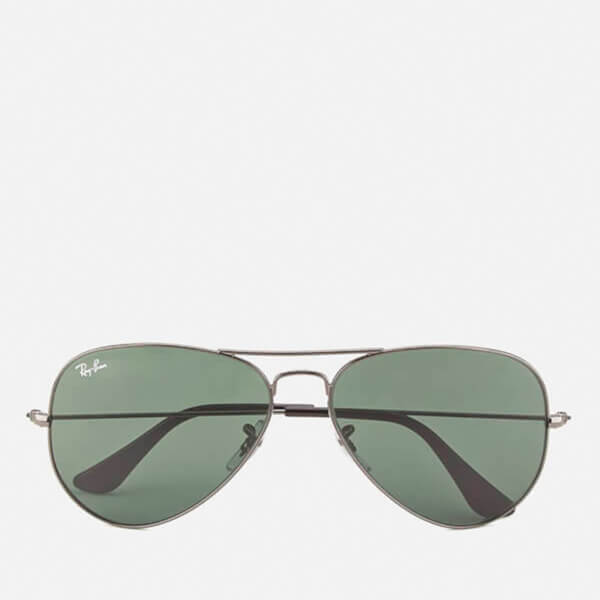 af520d78dbd93 Ray-Ban Aviator Large Metal Sunglasses - Gunmetal - 58mm  Image 1