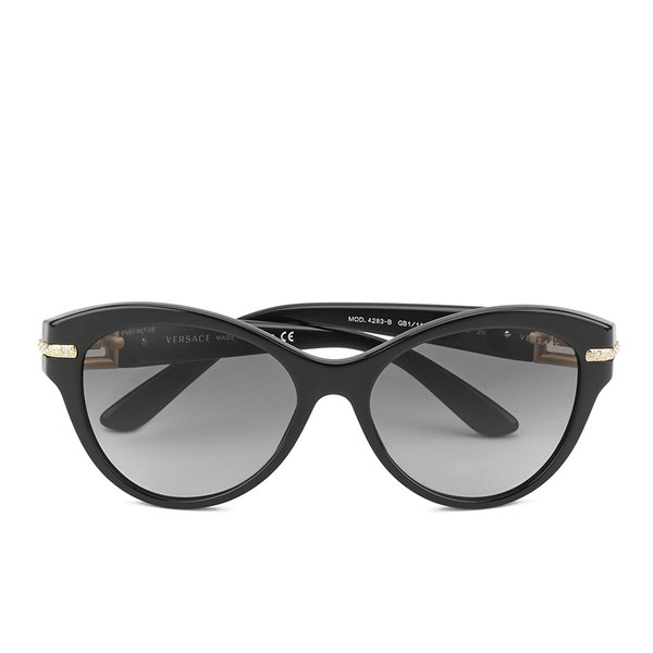 871c5fae1ee Versace Cat-Eye Women s Sunglasses - Black  Image 1