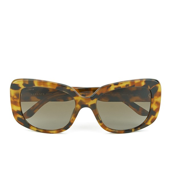 Versace Icons Women's Sunglasses - Havana