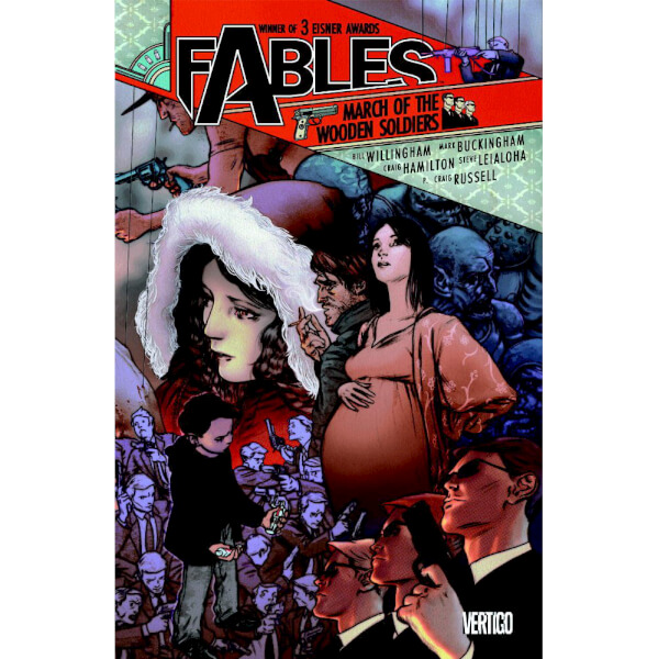Fables: March of the Wooden Soldiers - Volume 04 Paperback Graphic Novel