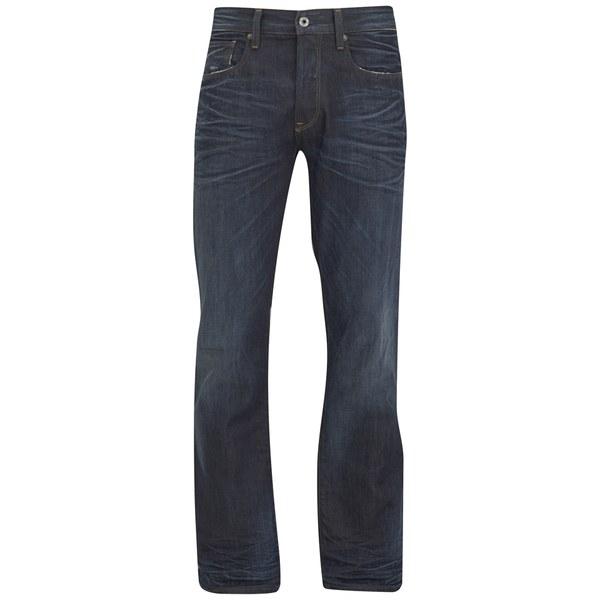 G-Star Raw Mens 3301 Loose Fit Jean In Swash Denim