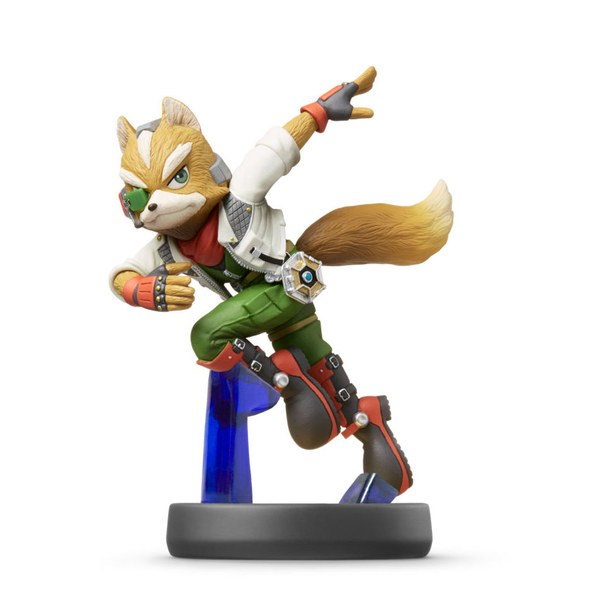 Super Smash Bros. For Wii U + Fox No.6 Amiibo