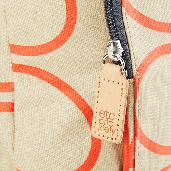 e1ab8c6276f9 Etc by Orla Kiely Women s Giant Linear Stem Backpack - Stone  Image 6