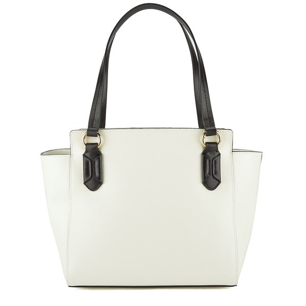 Lauren Ralph Lauren Women s Tate Graphic Modern Shopper Bag -  Vanilla Black  Image 5 cbc223436a