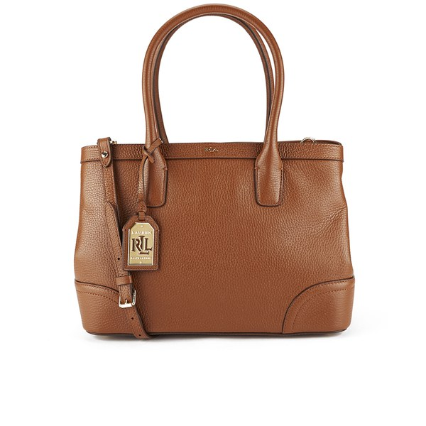 Lauren Ralph Lauren Women\u0027s Fairfield City Shopper Bag - Bourbon: Image 1