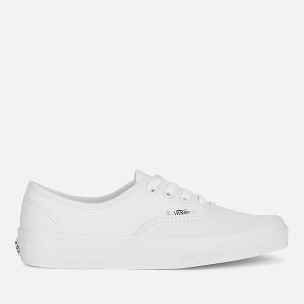 2c9e1088b8 Vans Authentic Canvas Trainers - True White   Image 1