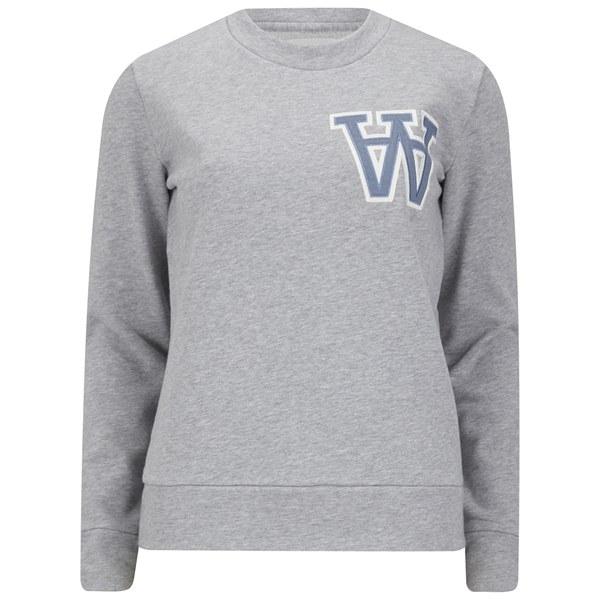 Wood Wood Women s Maya Sweatshirt - AA Light Grey - Free UK Delivery ... 60c44ed9cb
