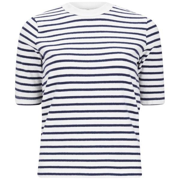Wood Wood Women's Adda T-Shirt - Navy Stripe