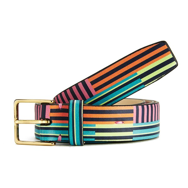 Paul Smith Accessories Women's Belt - Miami Stripe