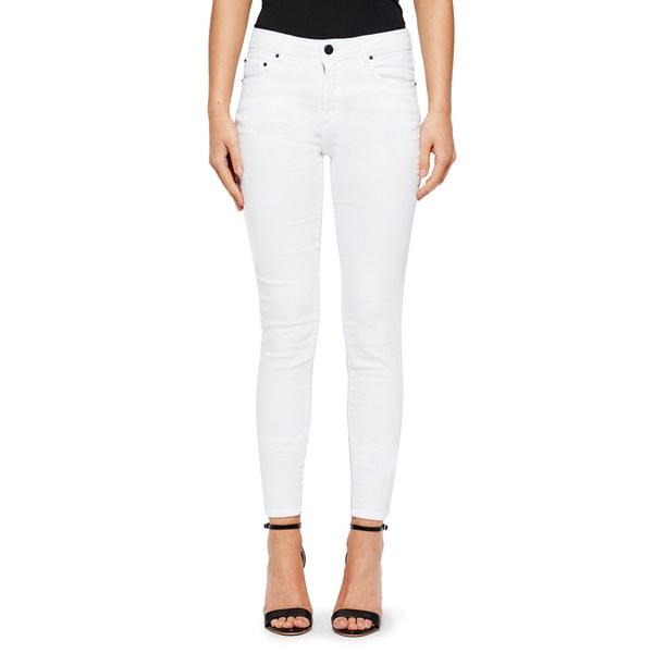 American Vintage Women's Jimenez Slim Fit Jeans - White