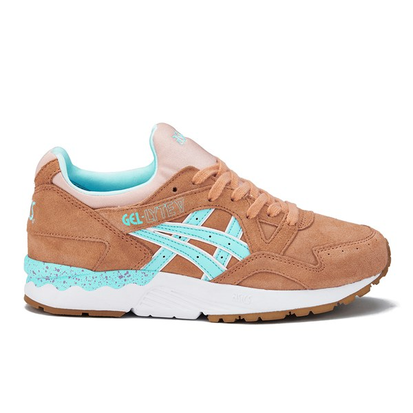 info for 635f4 cb708 Asics Lifestyle Women s Gel-Lyte V Trainers - Coral Reef Clear Water  Image