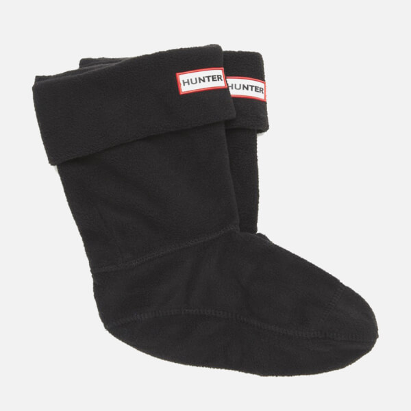 Hunter Short Boots Socks - Black