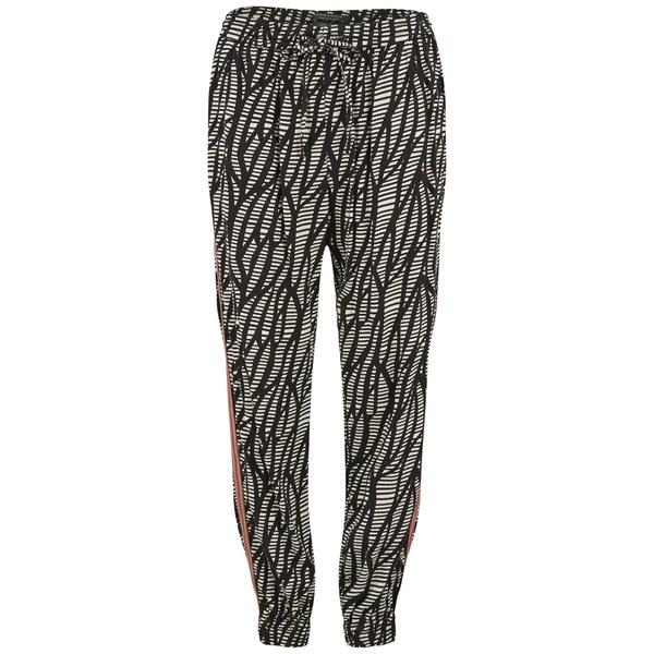 Maison Scotch Women's Drapey Pants with Side Seam Detail - Multi