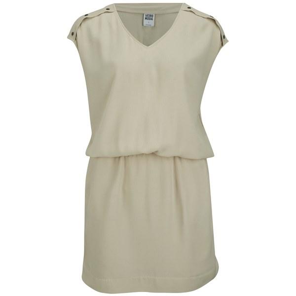 Vero Moda Women's Village Dress - Oatmeal