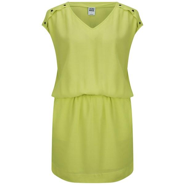 Vero Moda Women's Village Dress - Sunny Lime